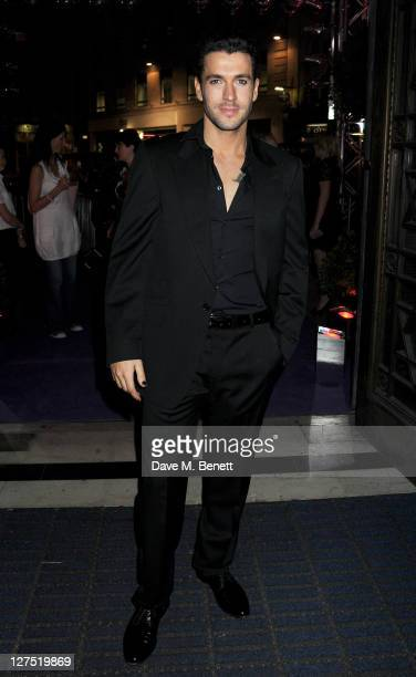 Shayne Ward attends an after party celebrating Press Night of 'Rock Of Ages The Musical' at the Freemasons Hall on September 28 2011 in London England