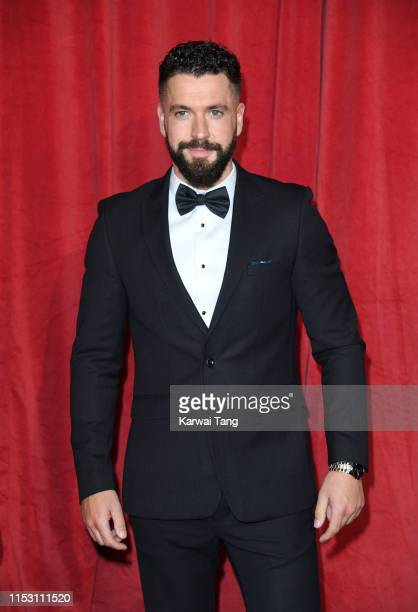 Shayne Ward attends the British Soap Awards at The Lowry Theatre on June 01 2019 in Manchester England