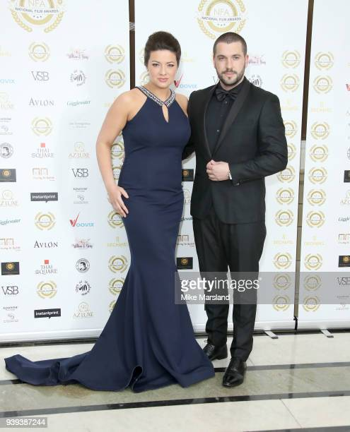 Shayne Ward attends the National Film Awards UK at Portchester House on March 28 2018 in London England