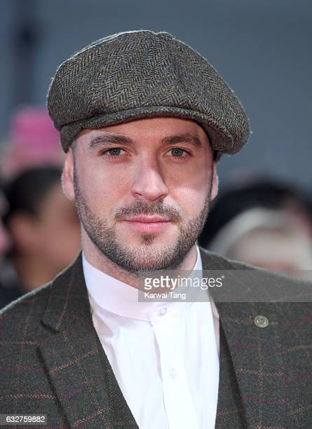 Shayne Ward attends the National Television Awards at The O2 Arena on January 25 2017 in London England