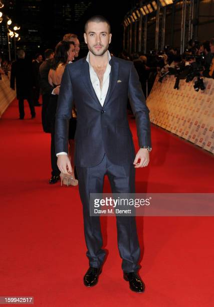 Shayne Ward attends the the National Television Awards at 02 Arena on January 23 2013 in London England