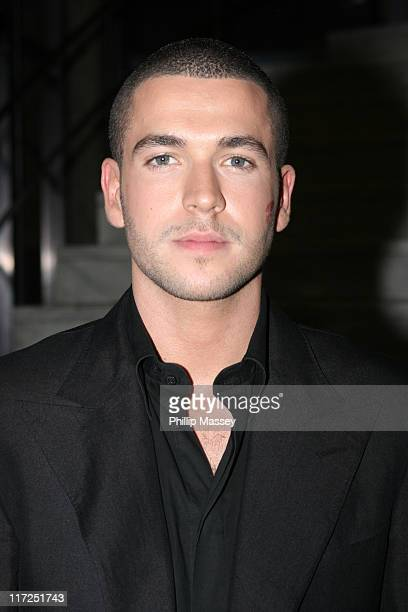 Shayne Ward during Shayne Ward, Louis Walsh and Former Boyzone Member Mikey Graham at the Late Late Show - Dublin, Ireland - 21 April, 2006 at RTE...