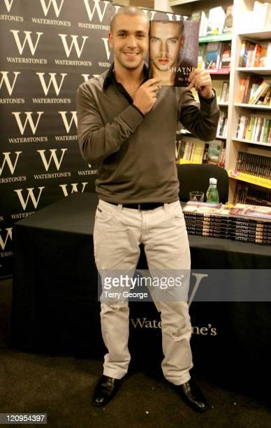 Shayne Ward during Shayne Ward Signs His Autobiography 'Shayne Ward My Story' at Waterstones in Manchester November 26 2006 at Waterstone's in...