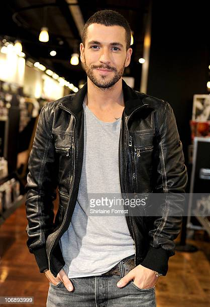 COVERAGE ** Shayne Ward promotes his new album 'Obsession' at HMV on November 15 2010 in Manchester England