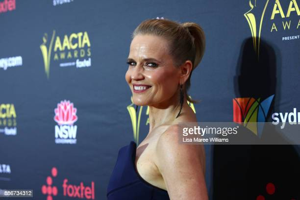 Shaynna Blaze attends the 7th AACTA Awards Presented by Foxtel | Ceremony at The Star on December 6 2017 in Sydney Australia