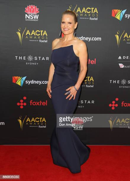 Shaynna Blaze poses during the 7th AACTA Awards at The Star on December 6 2017 in Sydney Australia