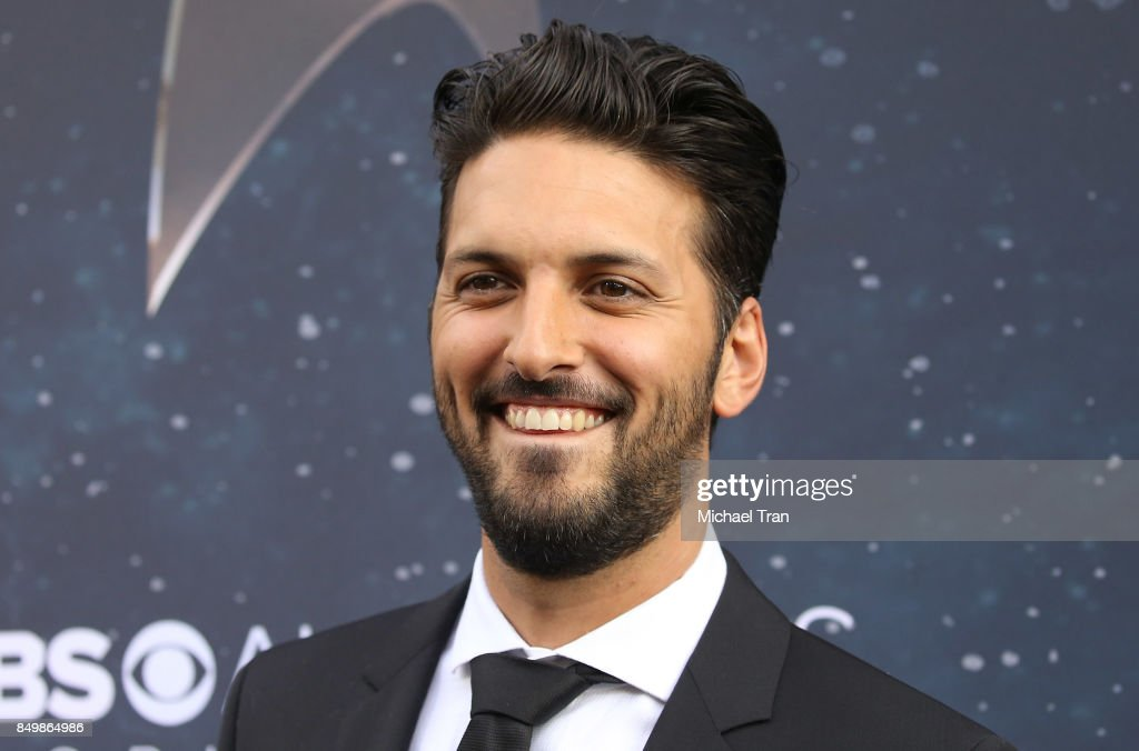 Shazad Latif attends the Los Angeles premiere of CBS's 'Star Trek: Discovery' held at The Cinerama Dome on September 19, 2017 in Los Angeles, California.