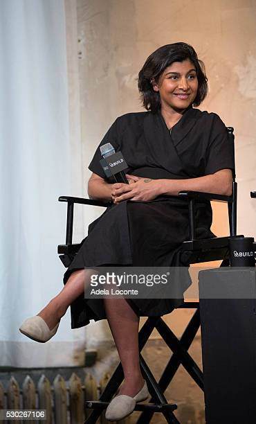 Shazi Visram discusses Celebrate Working Mothers With Alicia Ybarboat at AOL Studios In New York on May 10 2016 in New York City