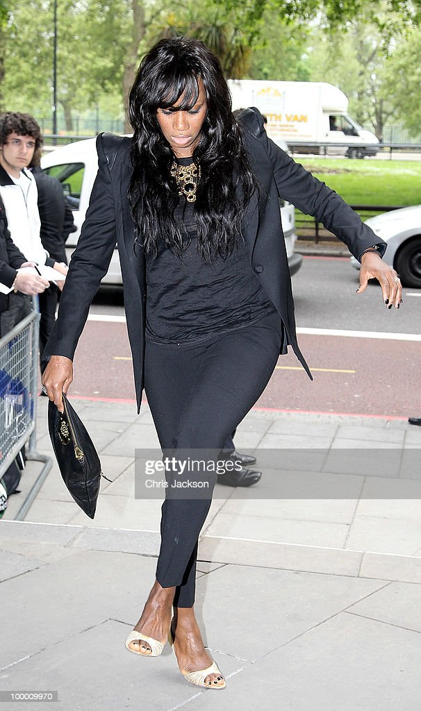 Shaznay Lewis arrives at the Ivor Novello Awards at Grosvenor House, on May 20, 2010 in London, England.