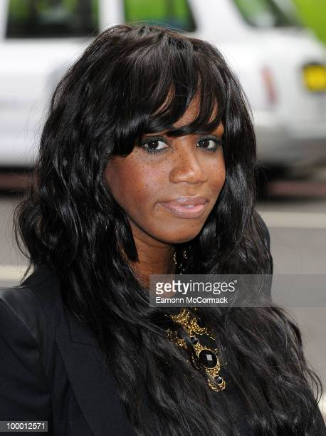 Shaznay Lewis attends the Ivor Novello Awards at Grosvenor House on May 20 2010 in London England