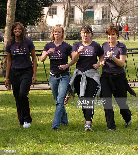 Shaznay Lewis Hermione Norris Arabella Weir and Emma Forbes