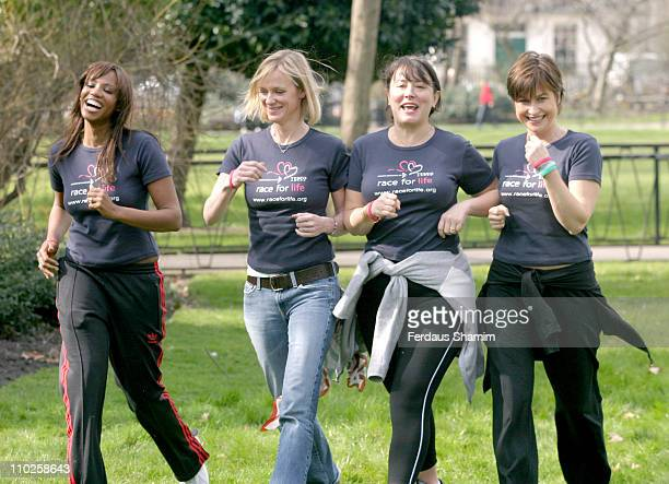 Shaznay Lewis Hermoine Norris Arabella Weir and Emma Forbes