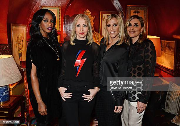 Shaznay Lewis Nicole Appleton Melanie Blatt and Natalie Appleton of All Saints attend an intimate performance by All Saints at Annabel's on May 4...