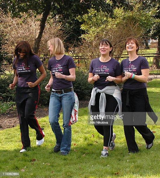 Shazney Lewis Hermione Norris Arabella Weir and Emma Forbes
