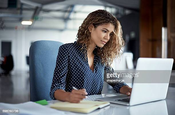 she always gives her job one hundred percent - using computer stock photos and pictures