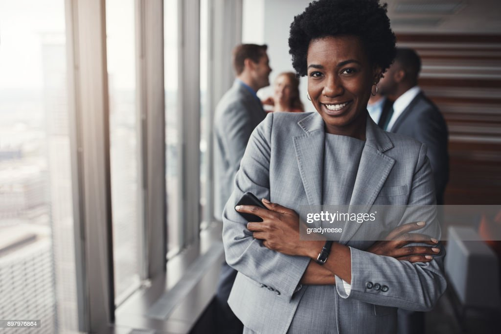 She always ready to prove herself : Stock Photo