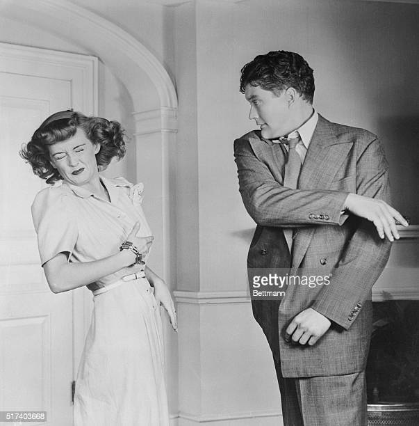 She asked for it and she got it In making the movie In This Our Life star Bette Davis insisted on realism When Dennis Morgan's role called for his...