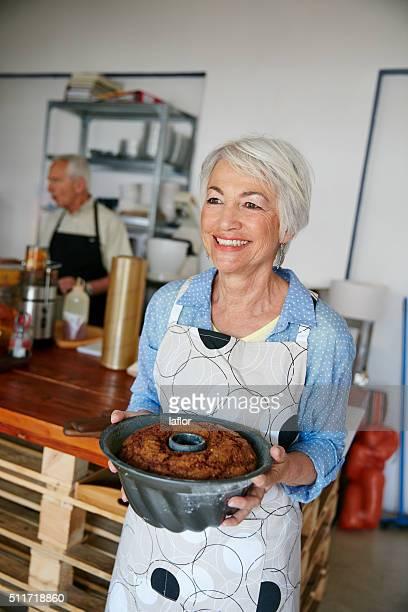 She bakes the best bundt cakes