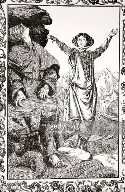 She caused the rock to shut down' 1905 Vivien turns on her own master Merlin tricking him to enter the rock which she then closes on him An...