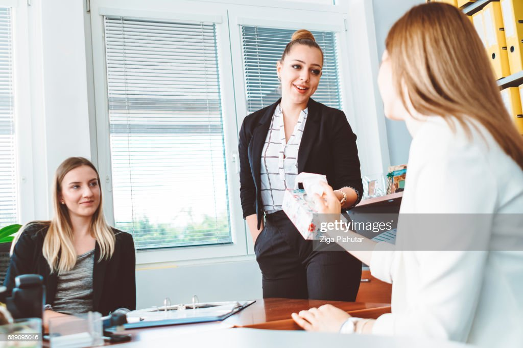 She couldn't handle job refusal : Stock Photo