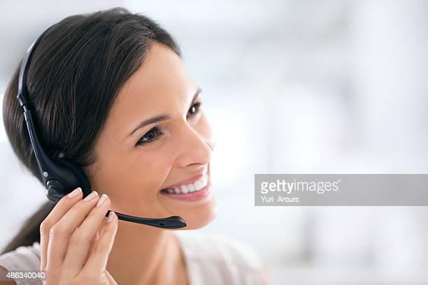 Ella es el esfuerzo adicional para sus clientes