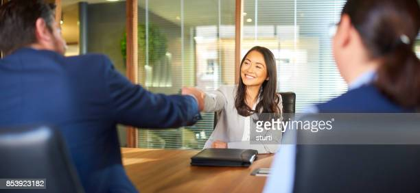 she got the job - recruitment stock pictures, royalty-free photos & images