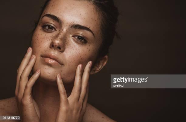 She has a captivating beauty