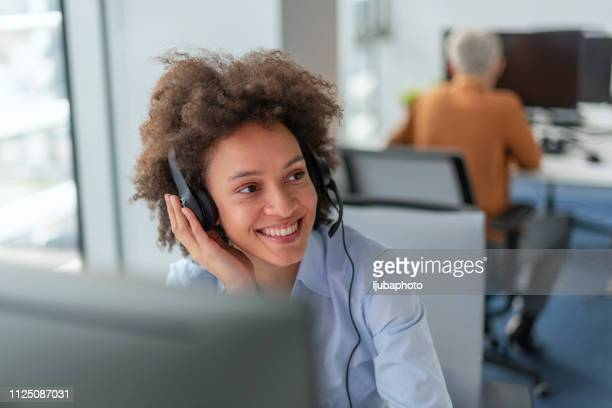 she has all the answers! - contact us stock pictures, royalty-free photos & images