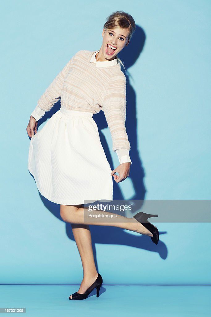 She has that old-world charm : Stock Photo