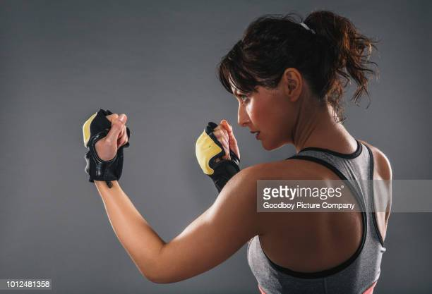 she has the will and skill - self defence stock pictures, royalty-free photos & images