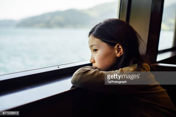 She is going on a journey to find myself on a ship