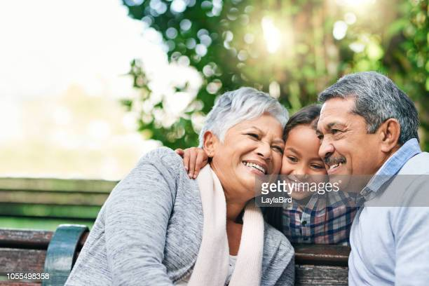 she is loved - grandparent stock pictures, royalty-free photos & images