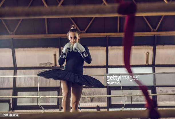 She is one tough ballerina!