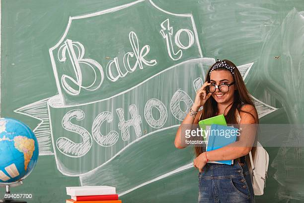 She is ready for new school year