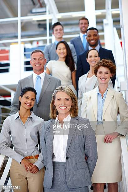 she leads the way - incidental people stock pictures, royalty-free photos & images
