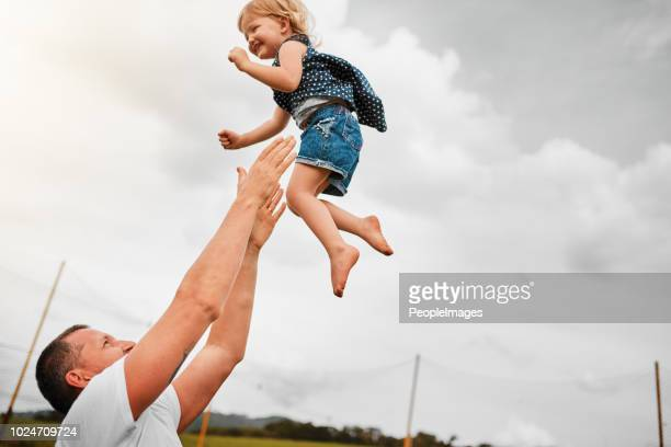 she loves her time with her dad - modern manhood stock pictures, royalty-free photos & images