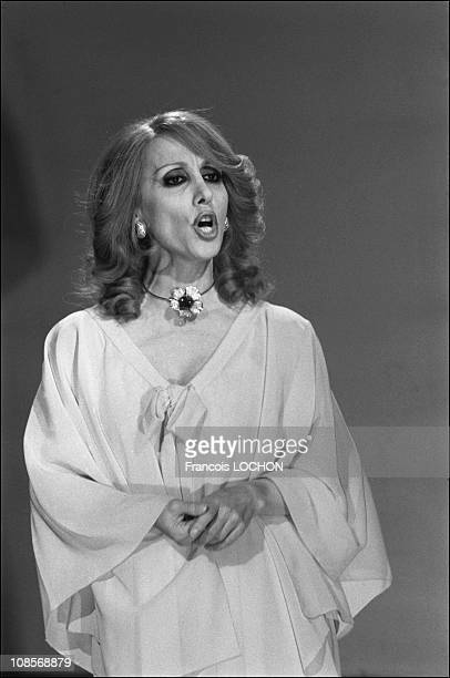 She may take the place of famous singer Um Kalthoum in Paris France on May 19th 1975