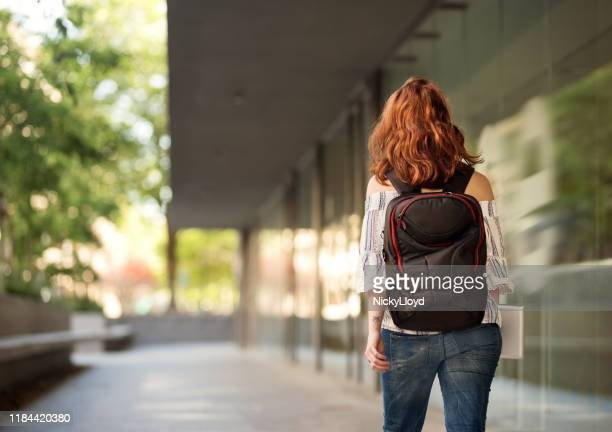 she never miss any class - back stock pictures, royalty-free photos & images