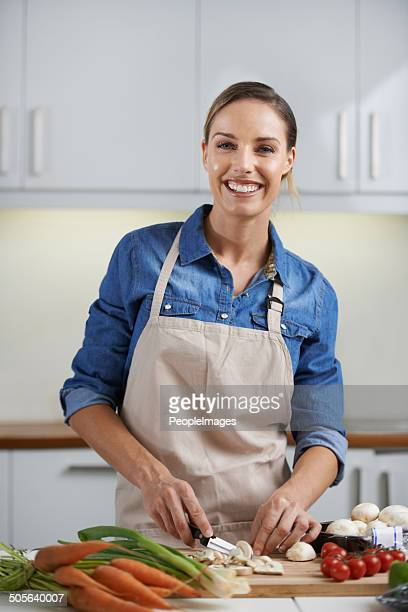 She only uses the freshest ingredients