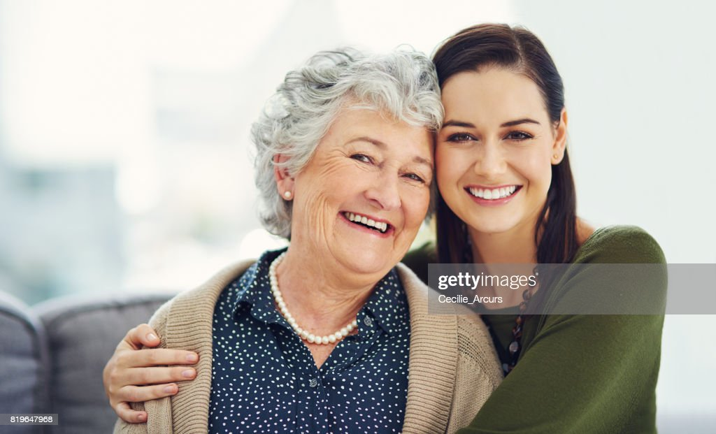 She taught me the value of love : Stock Photo