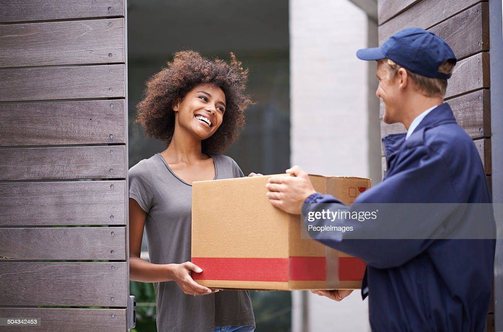 She was grateful that he had come on time : Stock Photo