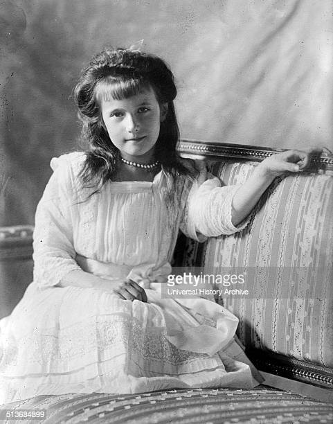 She was the youngest daughter of Tsar Nicholas II, The last Tsar of Russia.