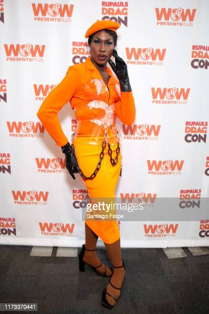 Shea Coulee attends RuPaul's DragCon 2019 at The Jacob K Javits Convention Center on September 08 2019 in New York City