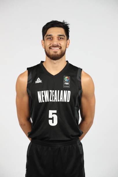 AUS: New Zealand Tall Blacks Basketball Headshots Session