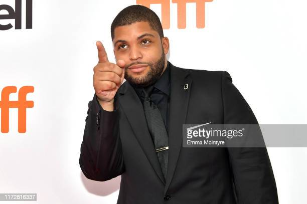 """Shea Jackson Jr attends the """"Just Mercy"""" premiere during the 2019 Toronto International Film Festival at Roy Thomson Hall on September 06, 2019 in..."""