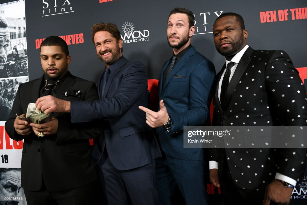 "Premiere Of STX Films' ""Den Of Thieves"" - Red Carpet"