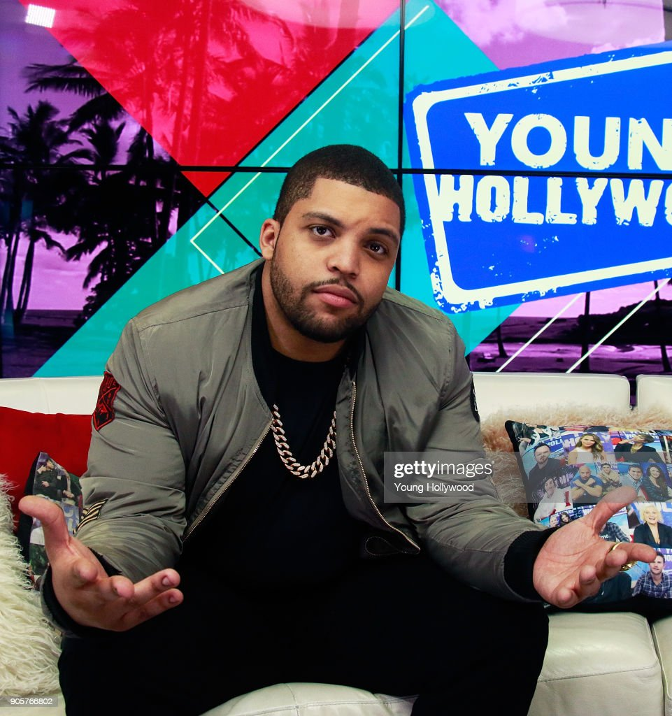 O'Shea Jackson Jr. visits the Young Hollywood Studio on January 16, 2017 in Los Angeles, California.