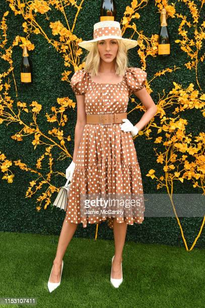 Shea Marie attends the 12th Annual Veuve Clicquot Polo Classic at Liberty State Park on June 01 2019 in Jersey City New Jersey