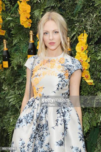 Shea Marie attends the 4th Annual Veuve Clicquot Carnaval at Museum Park on March 10, 2018 in Miami, Florida.