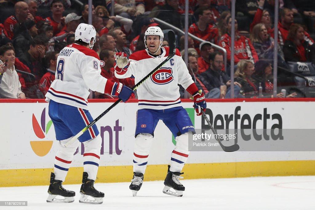 Montreal Canadiens v Washington Capitals : News Photo